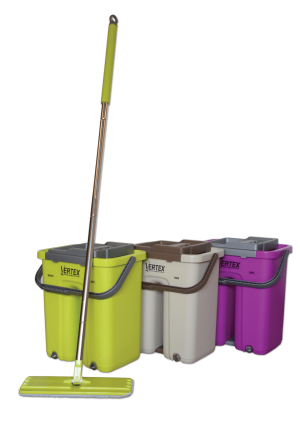 bucket 3 colours full
